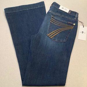 7 For All Mankind Jeans 30X32.5 Dojo Cambridge NWT